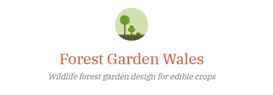Logo of Forest Garden Wales.