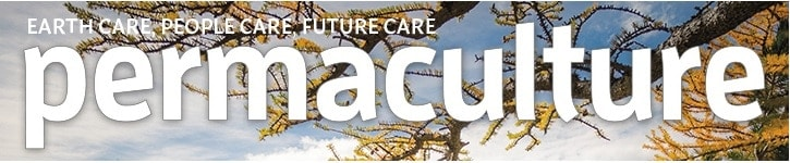 Header of Permaculture Magazine.