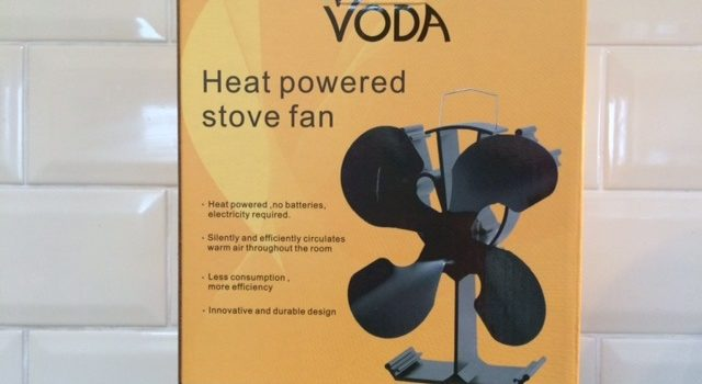 VODA Heat powered stove fan review