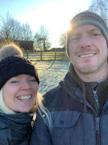 Tracy and Steven from Our Smallholding Adventure.