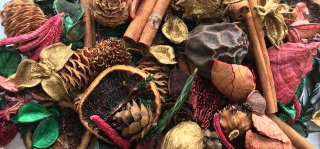 Store bought potpourri